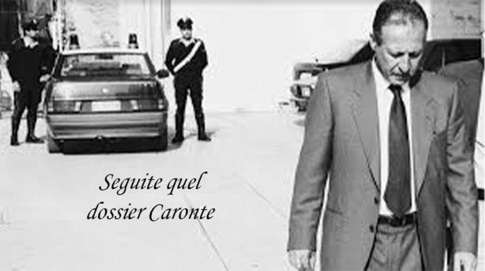 Paolo Borsellino all'uscita dalla Procura, foto storica