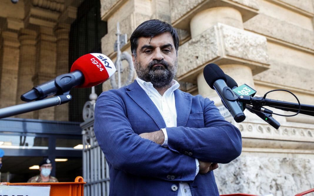 Luca Palamara, bagarre per ascoltarlo in Commissione Antimafia - Foto Ansa